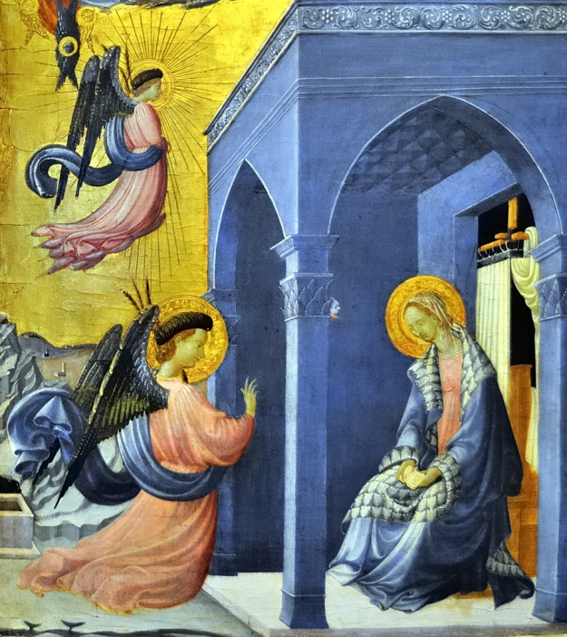 Paolo Uccello The Annunciation 1430