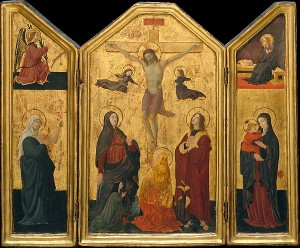 Paolo_Uccello The Crucifixion The Met