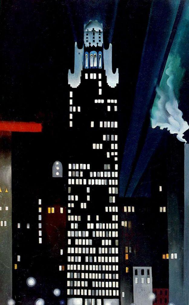 Radiator Building-Night NY 1927