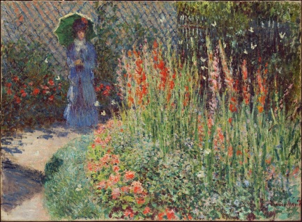 rounded_flower_bed_corbeille_de_fleurs_1876_claude_monet