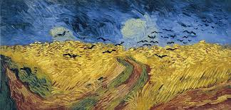 Van Gogh Crows In A Wheatfield