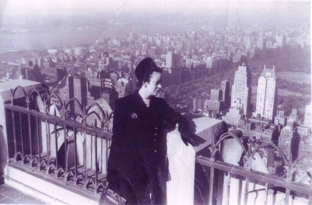 Eunice Empire State Building 1948