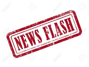 stamp news flash in red