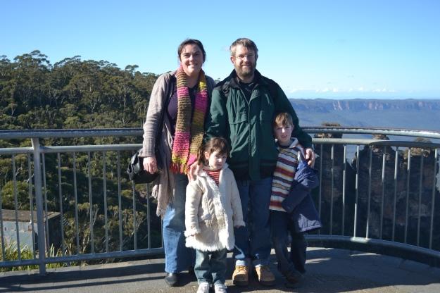 Newton Family 2011 Katoomba
