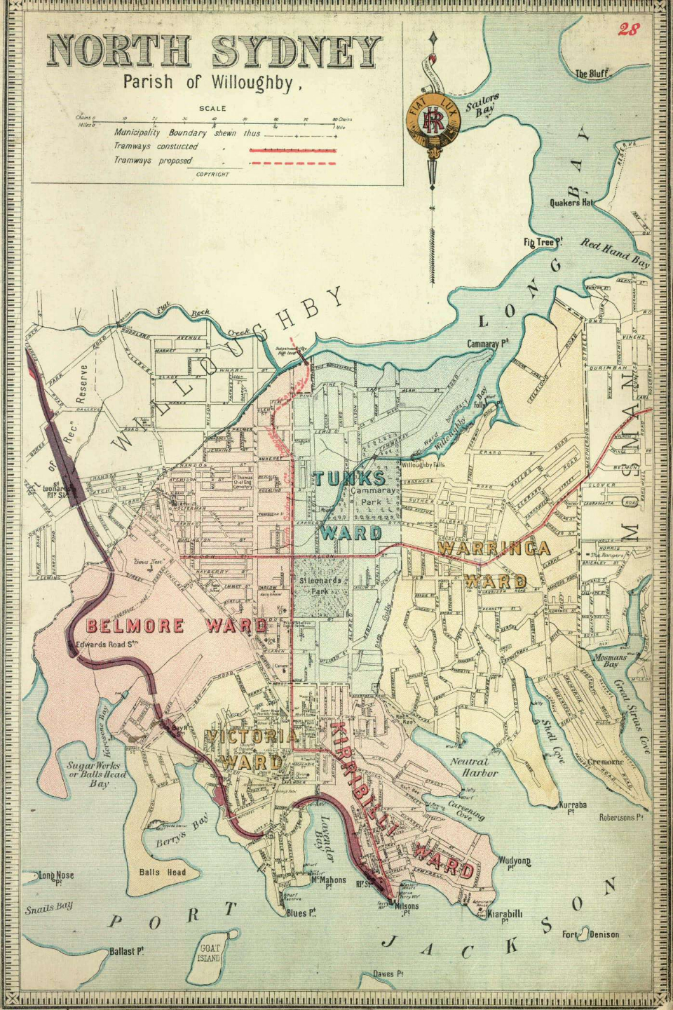 Atlas Suburbs of Sydney 1893-94