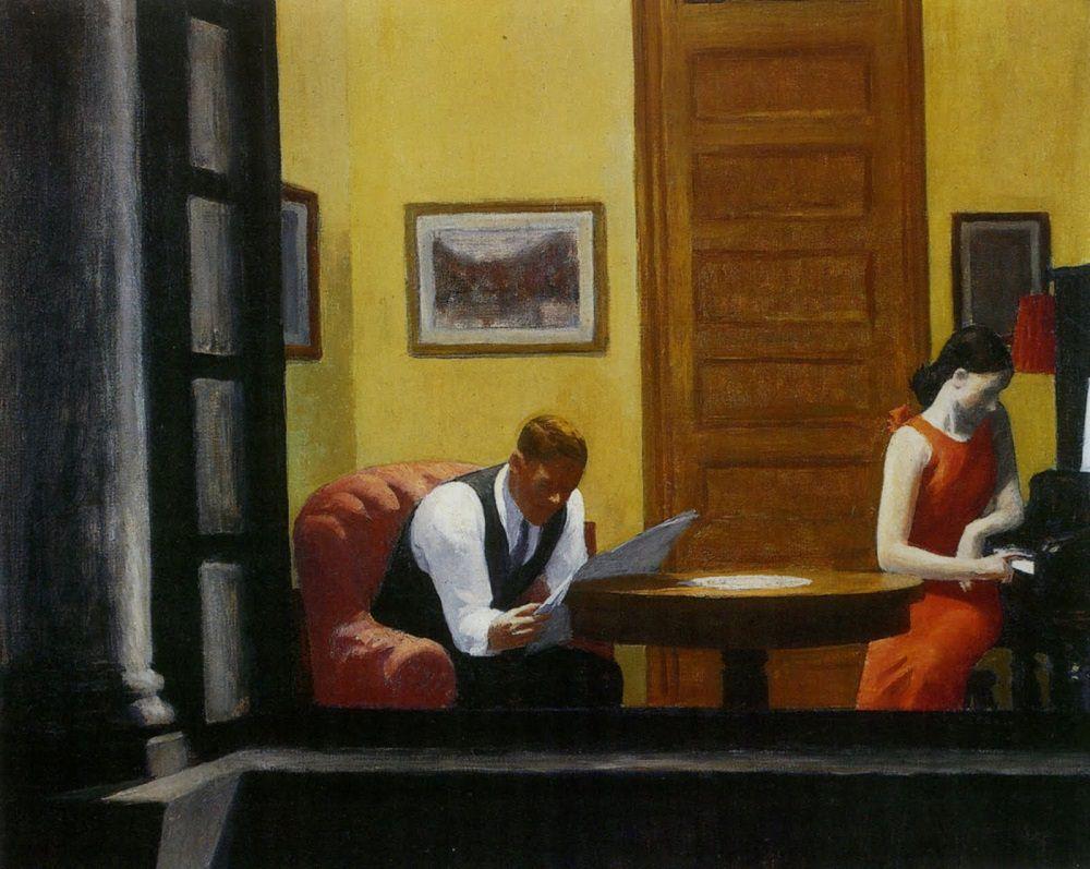 Edward Hopper room-in-new-york