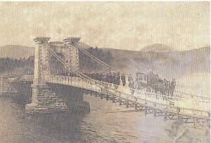 Kenmare Suspension Bridge
