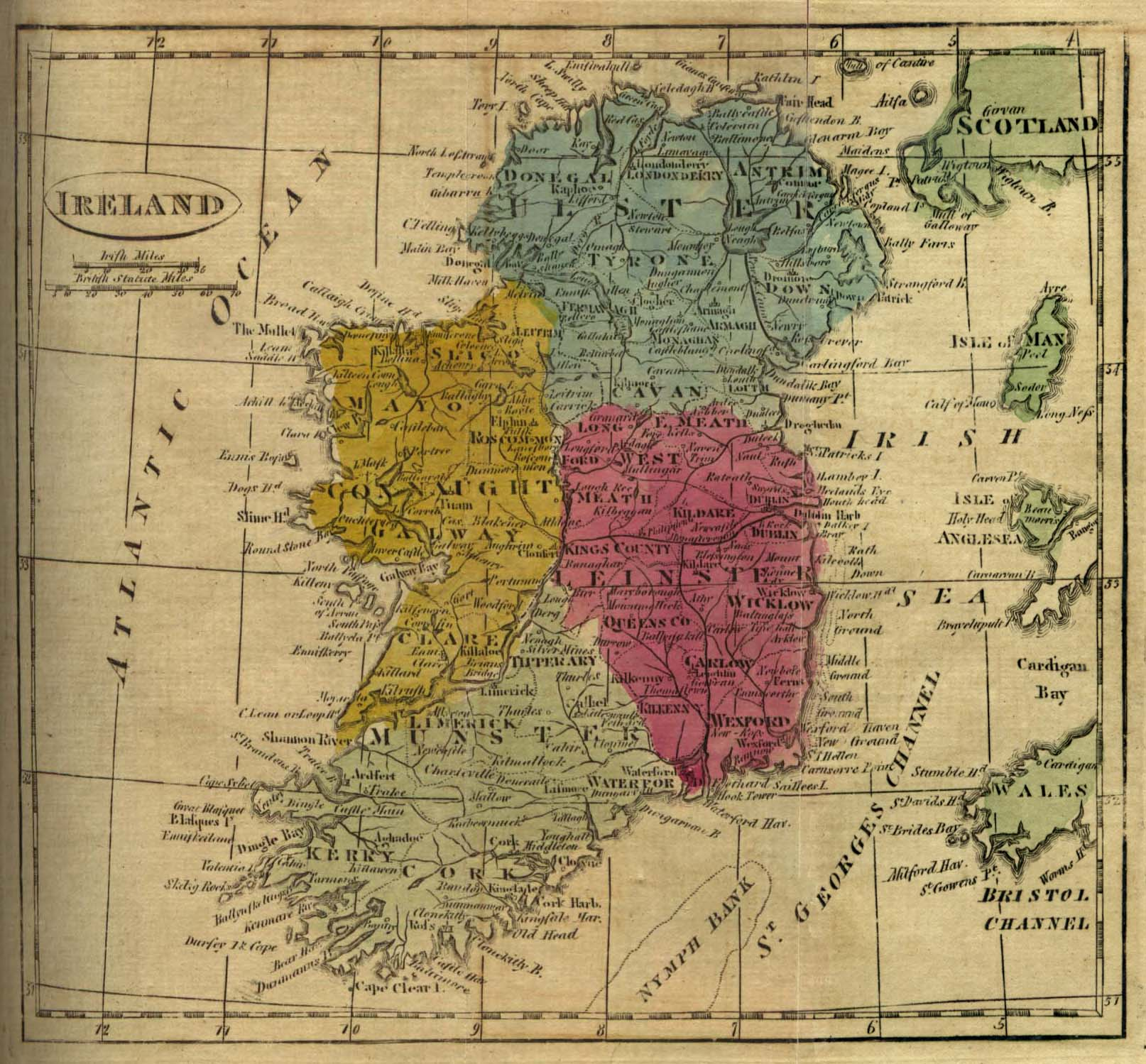 Map of ireland_1808
