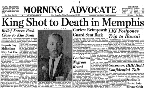 Martin Luther King Dead