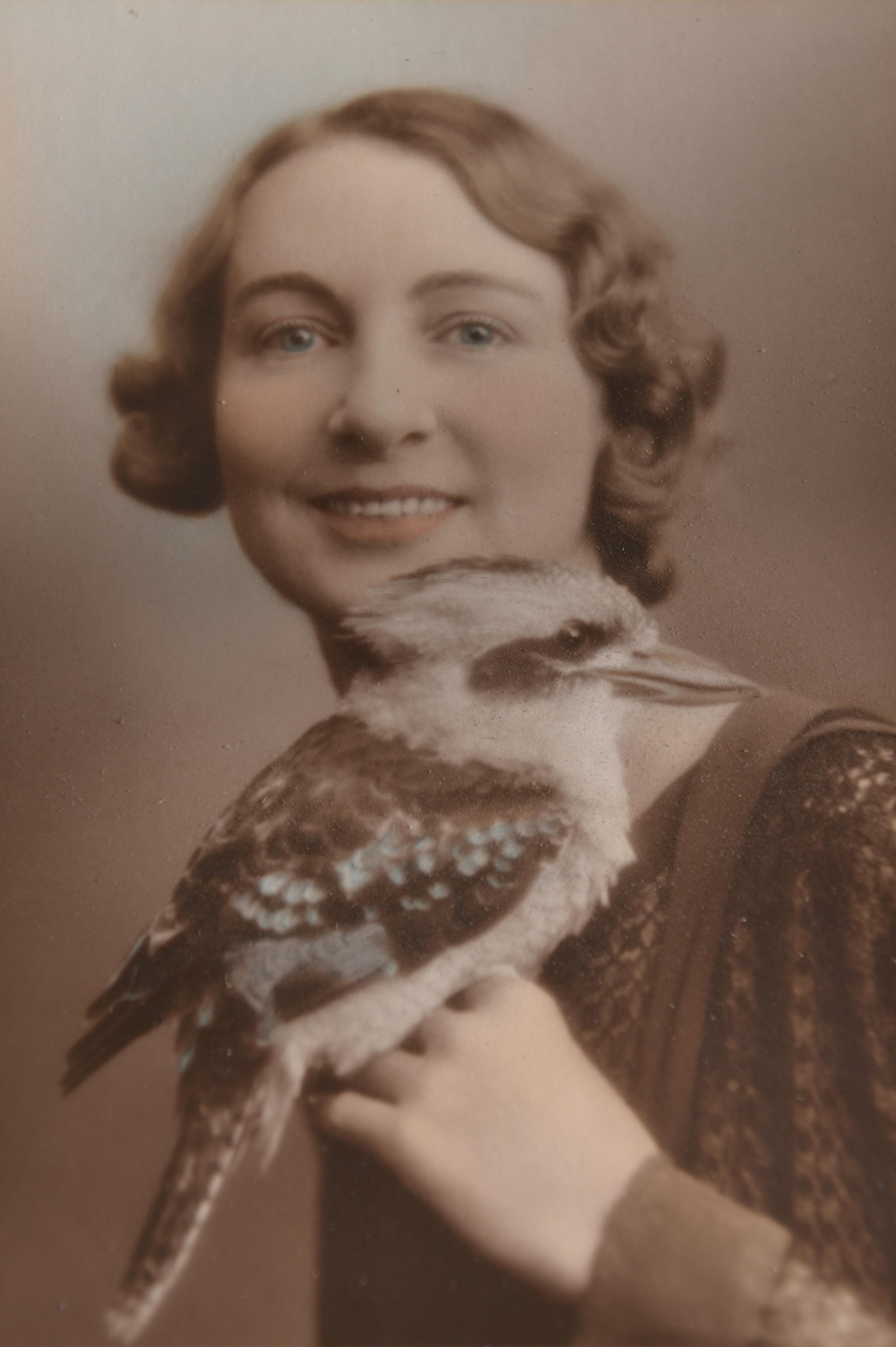 Aunty Rose & Kookaburra.JPG
