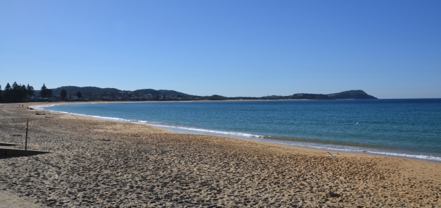 Terrigal beach pano