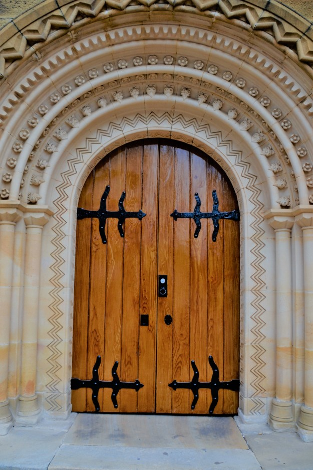 St Johns Parramatta door