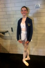 Amelia Ballet audition Sept 21 2018