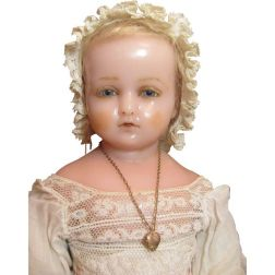Pierotti doll with baby face circa 1871