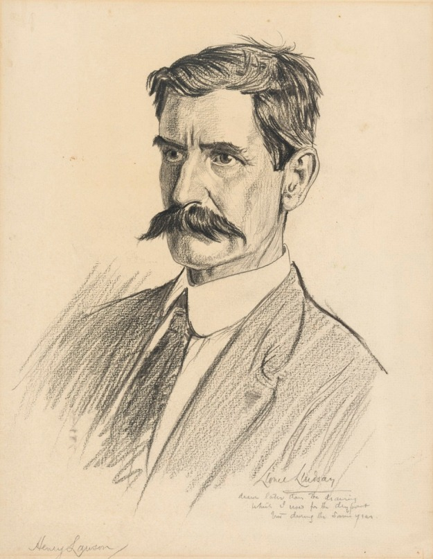 Henry Lawson by Lionel Lindsay