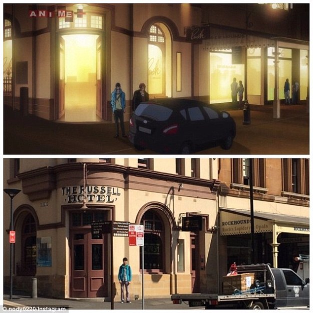Russell Hotel Anime