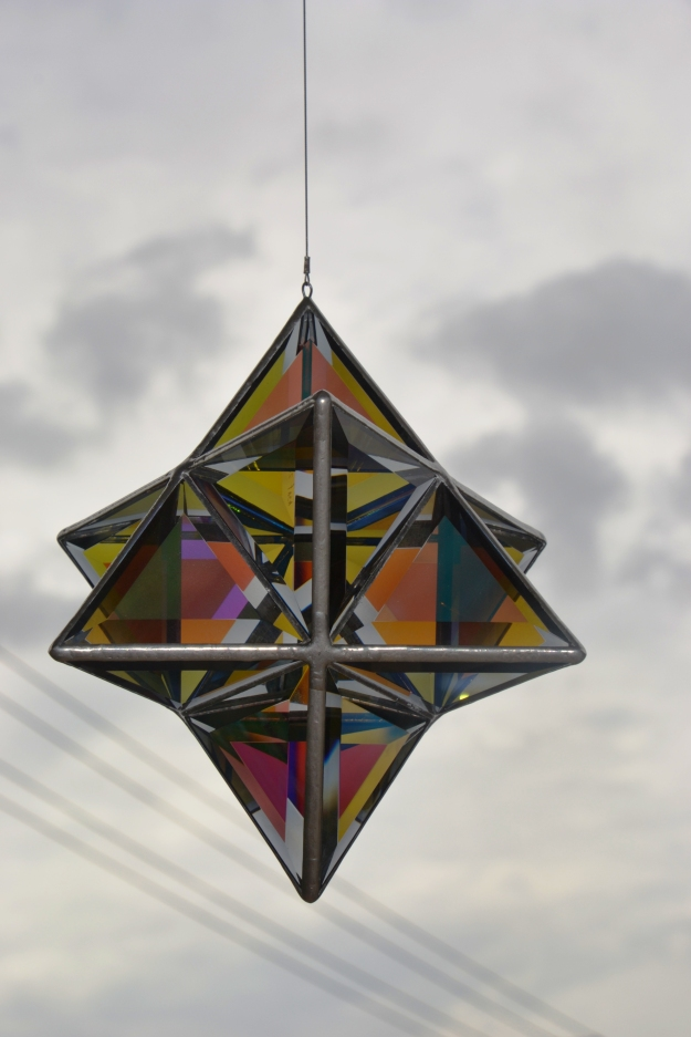 bangalow flying glass sculpture 2