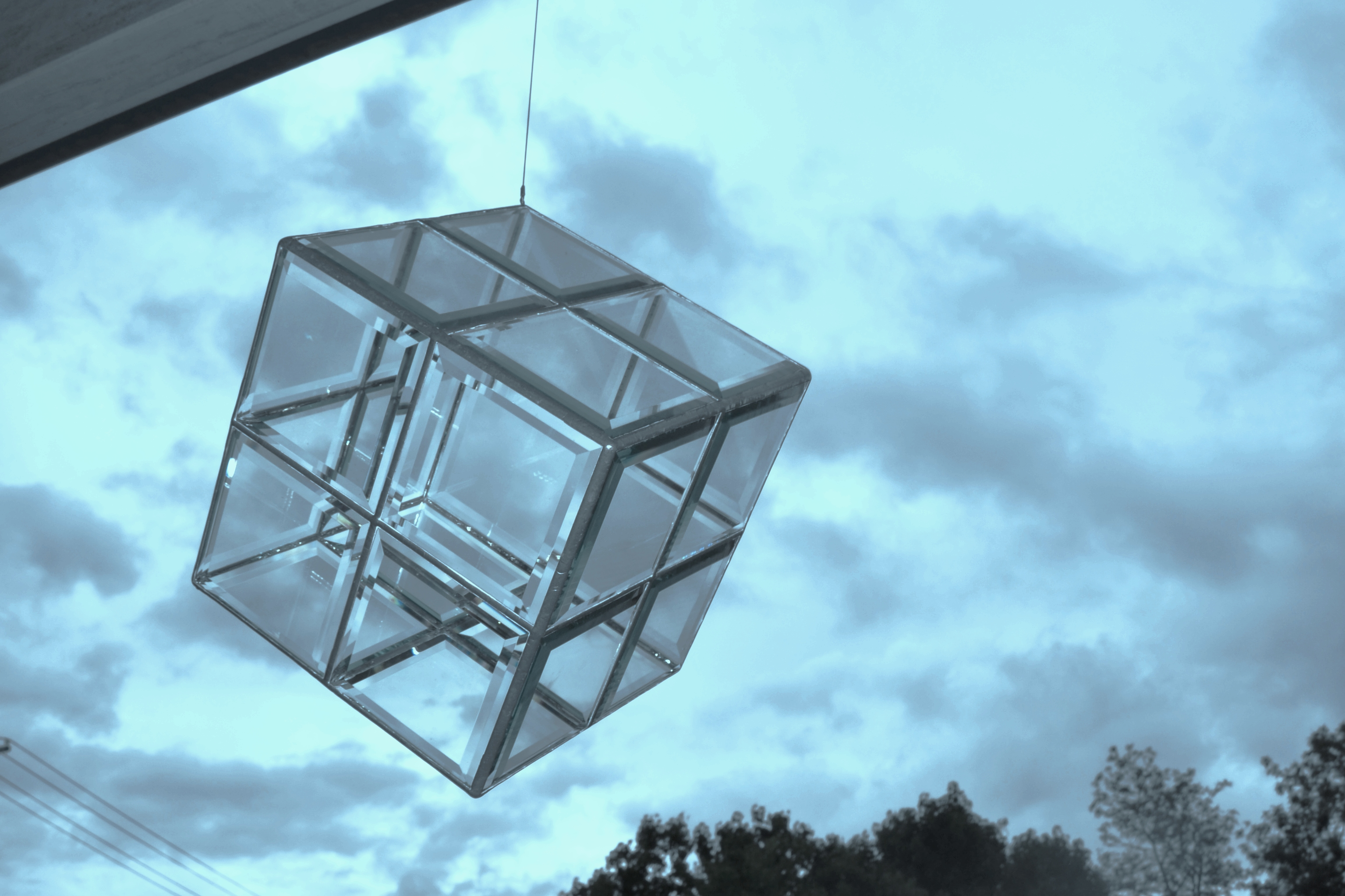 bangalow flying glass sculpture