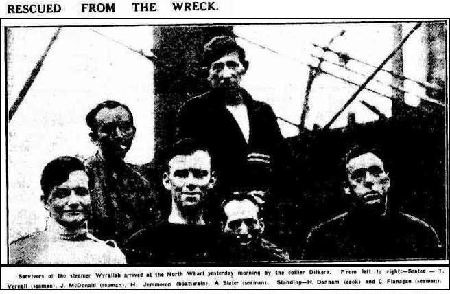 Survivors Wyrallah Age April 10 1924