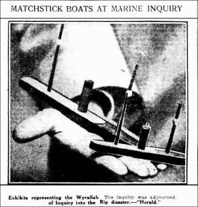 Weekly Times 19 April 1924 model boats