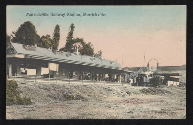 Marrickville Station