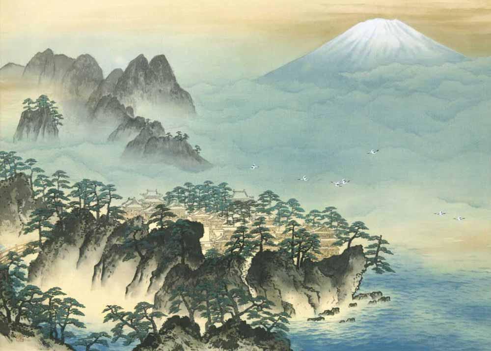 Taikan-Yokoyama-Mount-Penglai