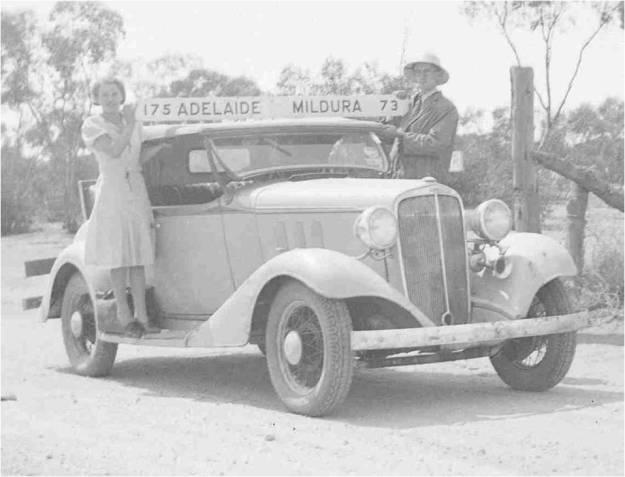 Bert & Marj State Border 1938
