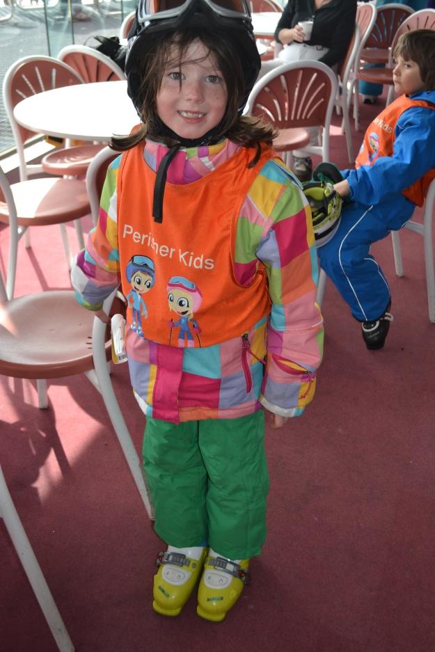 Amelia Skiing