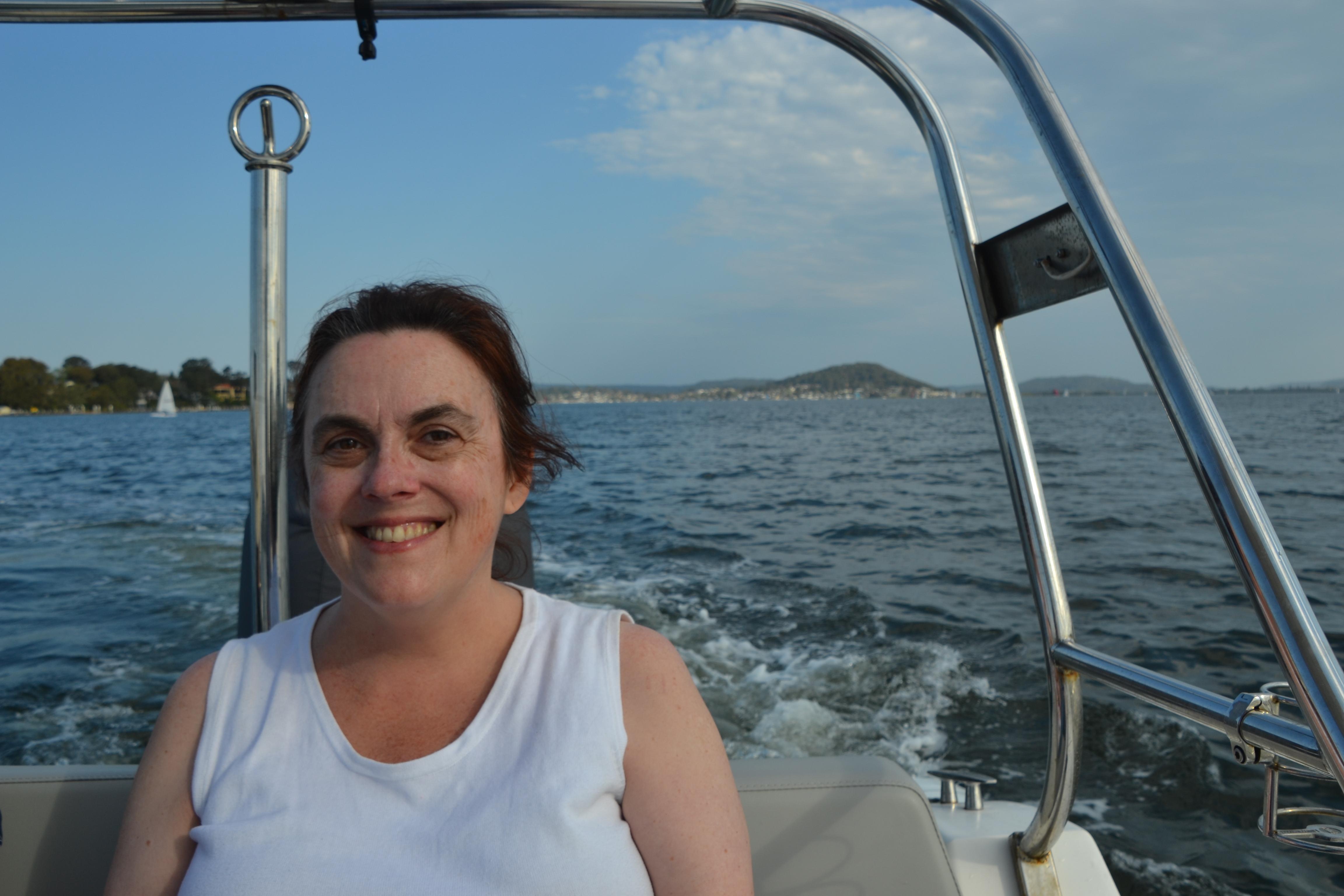 Rowena sailing