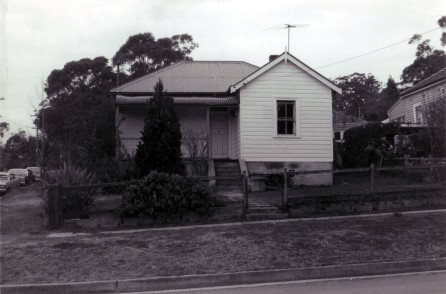 Wahoonga house front