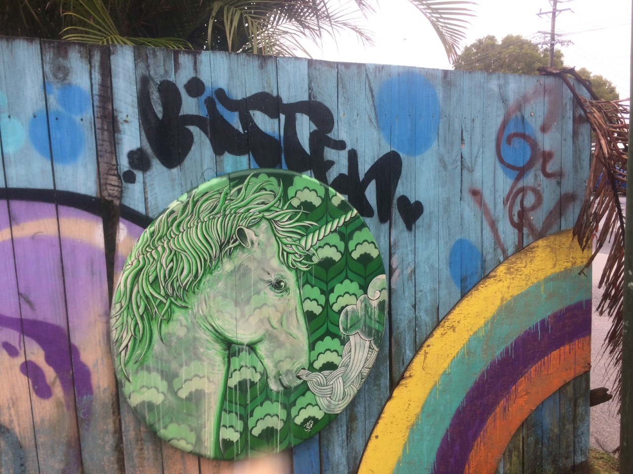 Byron Bay unicorn