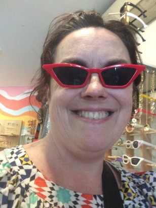 Rowena red glasses