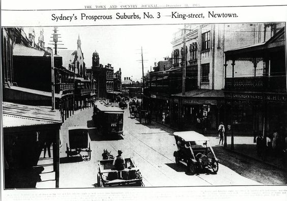 King Street Newtown historic