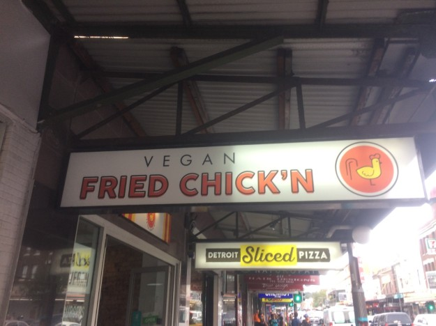 vegan fried chicken