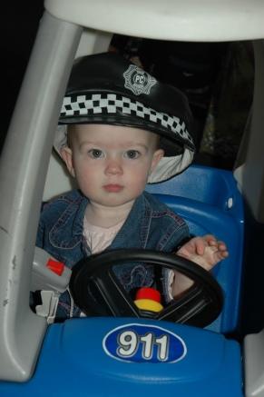 Amelia Police Car