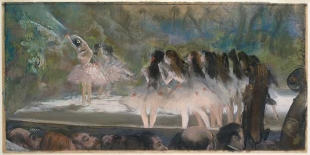 Degas Ballet at the paris opera