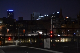 Melbourne night lights