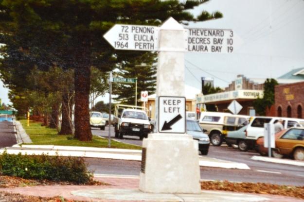 Nullarbour Ceduna roadsign