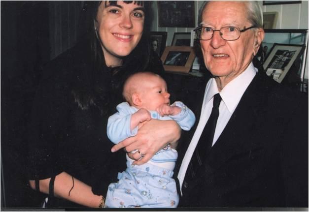 Papa Bert & Jonathon 2004