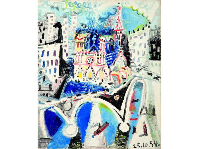 Picasso Notre Dame de Paris