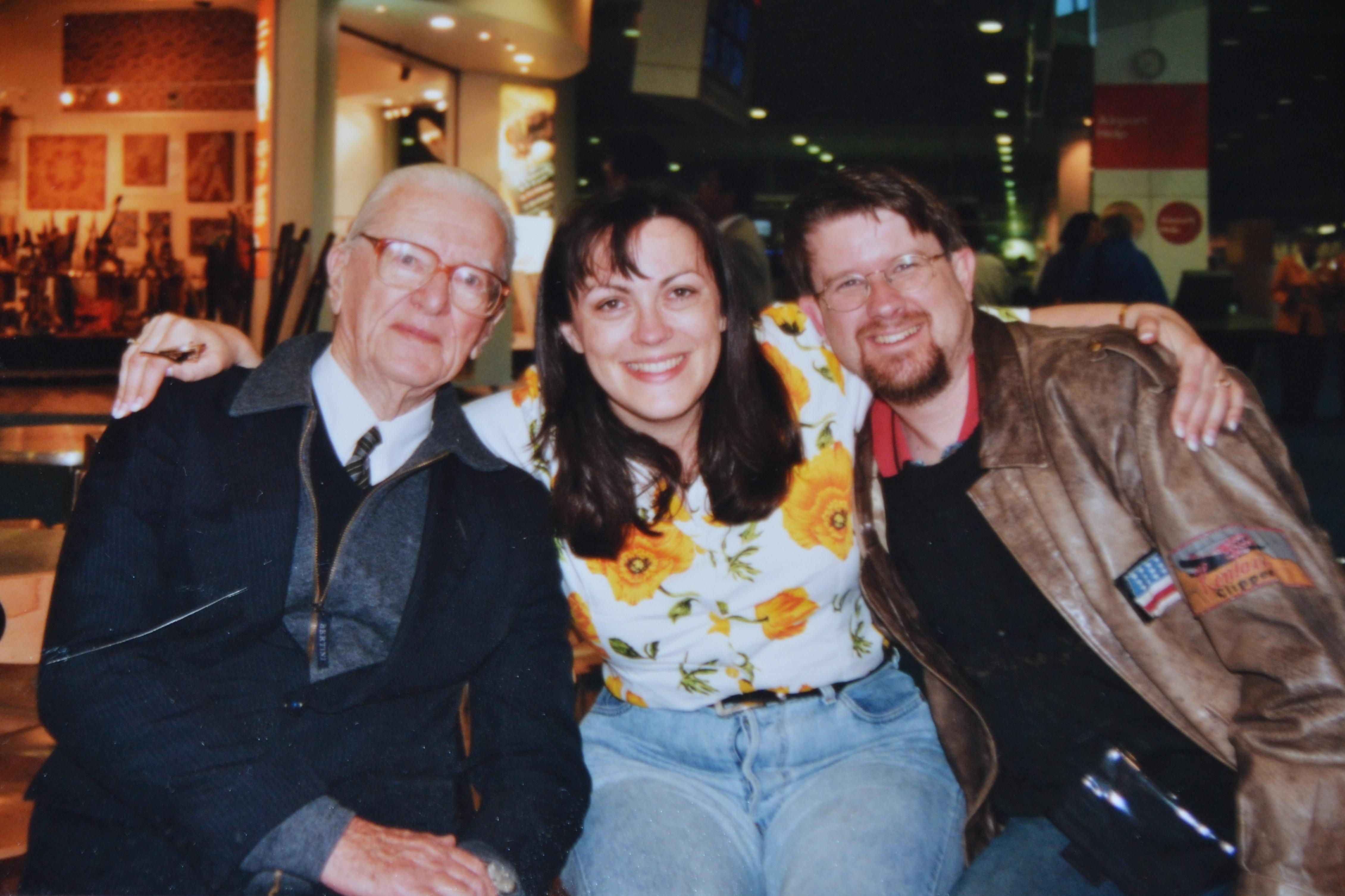 Rowena Geoff Papa Bert 2001