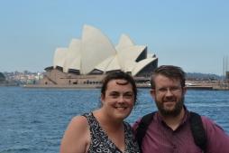Rowena & Geoff Sydney Opera House