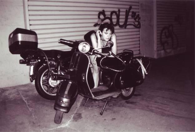 Rowena Paris motorbike