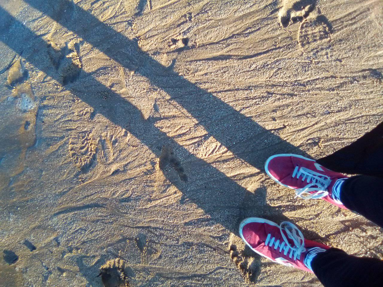 MacMasters Beach feet
