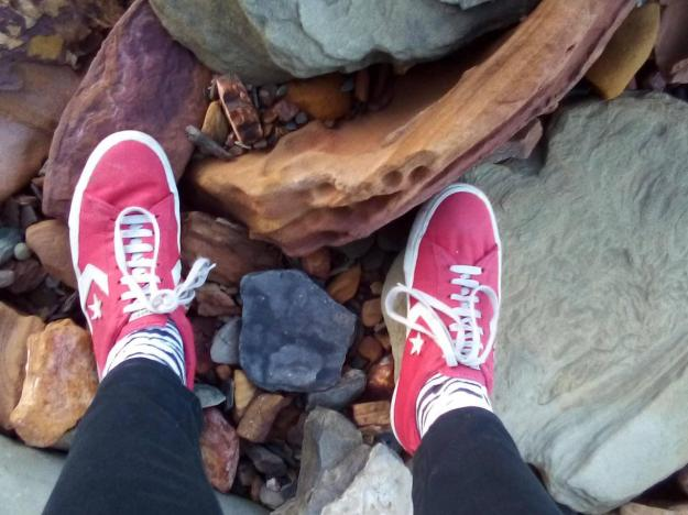 MacMasters Feet Rocks