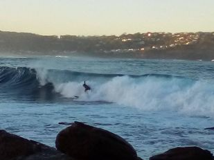 Surfer MacMasters Beach