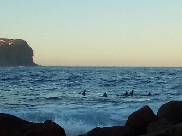 Surfers MacMasters beach