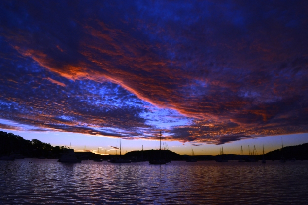 Awesome sunset Hardys Bay